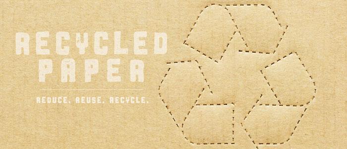 Sélection de produits recyclés